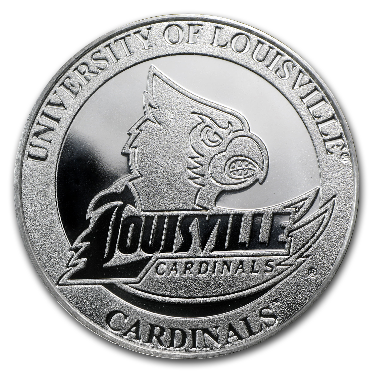 1 oz University of Louisville Silver Round
